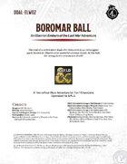 DDAL-ELW02 Boromar Ball