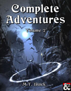 Complete Adventures of M.T. Black Vol. II