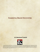 Elemental Beach Encounter