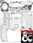 Gothic Character Sheet