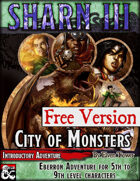Sharn III, City of Monsters - FREE VERSION