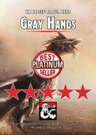 Gray Hands - a Waterdeep: Dragon Heist DM\'s Resource