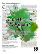 The Mezzos Fragment: a 5th Level Horror Adventure