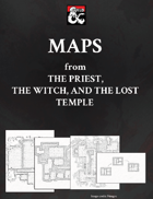 Maps from The Priest, the Witch and the Lost Temple