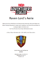 CCC-SVH-01-02 Raven Lord's Aerie