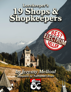 19 Shops & Shopkeepers