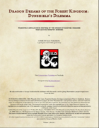 Dragon Dreams of the Forest Kingdom: Dunshield's Dilemma