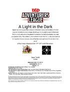 CCC-SAC-01: A Light in the Dark