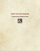 Adventure-Hunt for the Gobbler