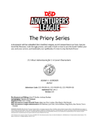 CCC Priory Series (PRIORY-01/02/03)