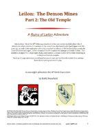 Leilon: The Demon Mines Part2 The Old Temple