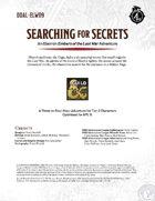 DDAL-ELW09 Searching for Secrets