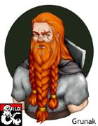 Pregen Character: Dwarf Cleric (Life Domain)