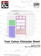 New Player Start Character Sheet