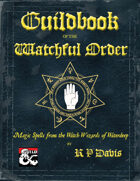 Guildbook of the Watchful Order