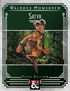 {WH} Satyrs! A character race of revelry, wine, and song.
