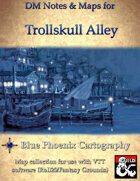 DM Notes & Maps for Trollskull Alley Waterdeep: Dragon Heist (single)