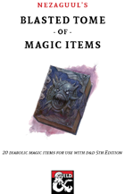 Nezaguul's Blasted Tome of Magic Items