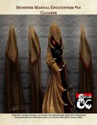 Cloaker - Monster Manual Encounters #20
