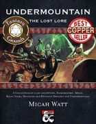 Undermountain: The Lost Lore (Fantasy Grounds)
