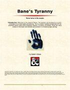 Bane's Tyranny