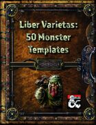 Liber Varietas: 50 Monster Templates