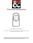 TGA-GMG-01 The Great Introduction