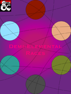 Demi-Elemental Races (5e)