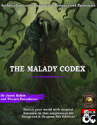 The Malady Codex I: The Guide to Diseases (Fantasy Grounds)