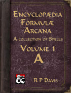 Encyclopaedia Formulae Arcana - A
