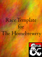Race Template for Homebrewery