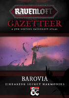 Ravenloft Gazetteer: Barovia Volume 1