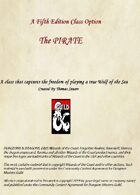 Pirate Class Option