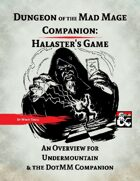 DotMM Companion: Halaster's Game