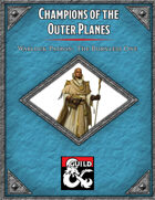 Champions of the Outer Planes Warlock Patron the Bornless One