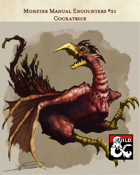 Cockatrice - Monster Manual Encounters #21