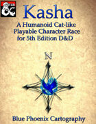 Kasha a Playable Character Race for 5th Edition D&D