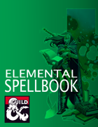 Elemental Spellbook (5e)