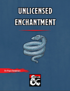 Unlicensed Enchantment - A short adventure for Waterdeep: Dragon Heist