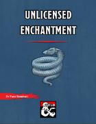 Unlicensed Enchantment - A short adventure for Waterdeep: Dragon Heist