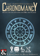 Time Traveler's Guide to Chronomancy