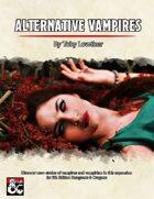 Alternative Vampires