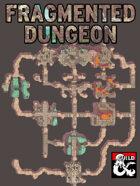 The Fragmented Dungeon - A Modular Battlemap
