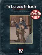 The Lost Lyrics of Rezinar