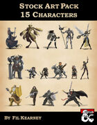 Stock Art Pack 15 Characters