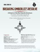 DDAL-DRW01 Breaking Umberlee's Resolve