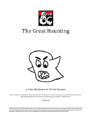 TGA-GMG-03 The Great Haunting