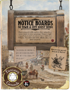 Notice Board: 50 Quest Seeds for Towns and Cities (Fantasy Grounds)