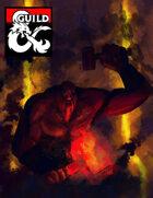 Fire Giant Blacksmith Art