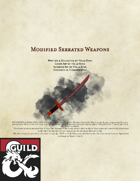 Modified Serrated Weapons